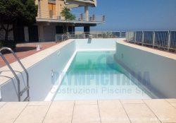 Quarta Fase: Installazione liner per piscine