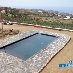 Costruzione piscina prefabbricata Pantelleria